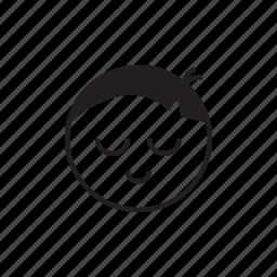 emoji, emoticon, face, shy, smiley icon