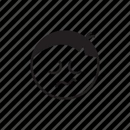 depression, emoji, face, sad, smiley, upset icon