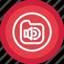 folder audio, audio, folder, recordings