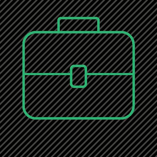 bag, briefcase, case, handbag, scoolbag icon