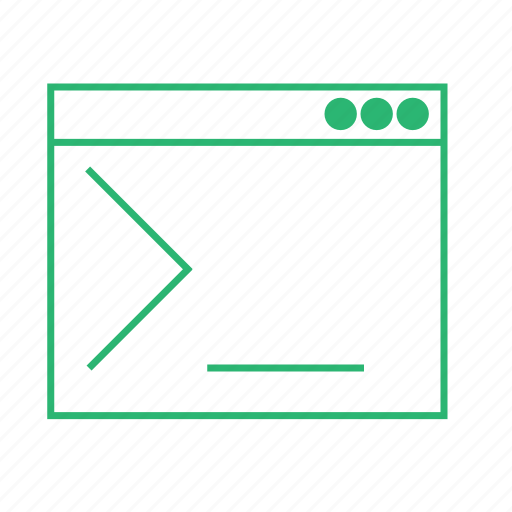 application, cli, command line, console, window icon