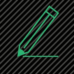 drawing, line, pen, pencil icon