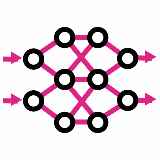 backpropagation, network, neural icon
