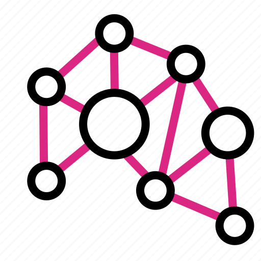 Chaos, connected, network icon - Download on Iconfinder