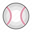 ball, baseball, baseballs, mlb, sports icon