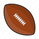 american football, ball, foot ball, football, nfl, pig skin, sports icon