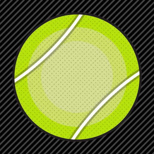 ball, sports, tennis, tennis ball, tennisball icon