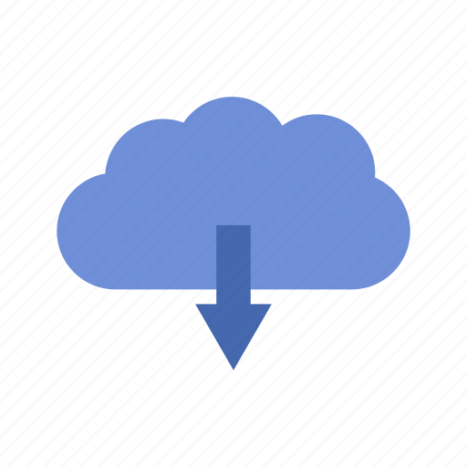 cloud, download, internet, technology icon