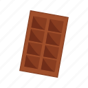 chocolate, design, food, sugar, sweet icon