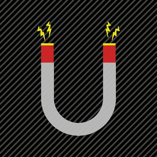design, magnet, metal, tool icon