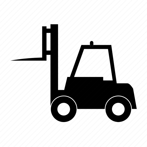 car, forklift, transport, transportation, travel, vacation, vehicle icon