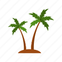 design, nature, palm, summer, tree icon