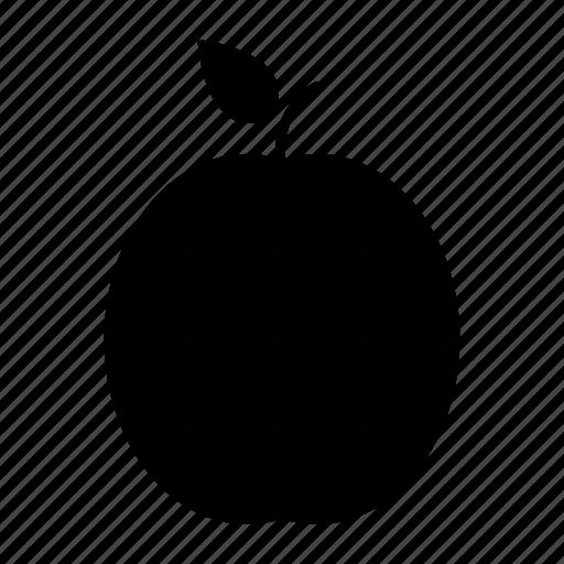 apricot, design, food, fruit icon