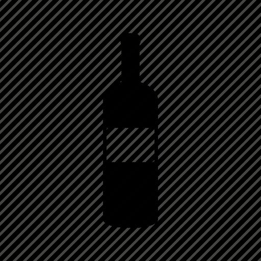 bottle, coffee, drink, glass, water, wine icon
