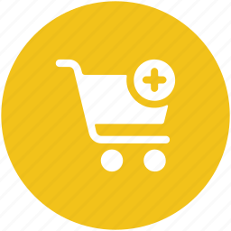add material, add product, add to cart, more shopping, plus sign, shopping cart icon