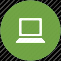 laptop, laptop computer, laptop pc, mini computer, notebook icon