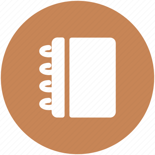 jotter, notebook, notepad, steno pad, writing, writing pad icon