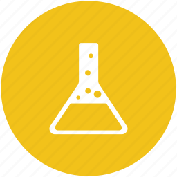 amperes tube, lab equipment, lab flask, volumetric flask icon
