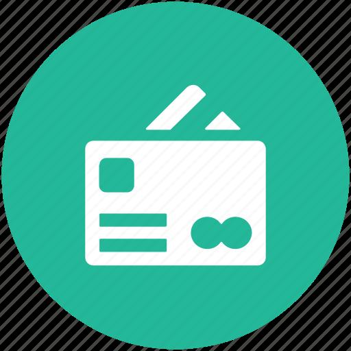 atm card, bank card, credit card, debit card, plastic money icon