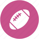american football, game, rugby, rugby ball, rugby equipment icon
