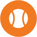 ball, cricket ball, game, sports, sports ball, tennis ball icon