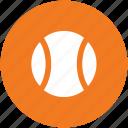 ball, cricket ball, game, sports, sports ball, tennis ball icon