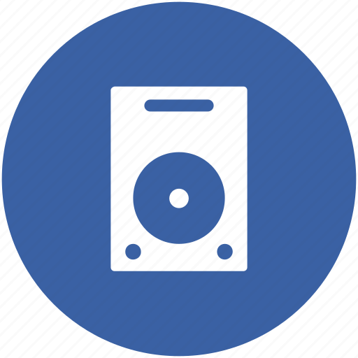 computer hardware, disc player, hard disk, hard drive, hardware, storage device icon