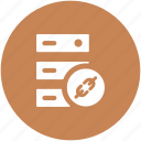data storage, hosting server, network share, rack server, server icon