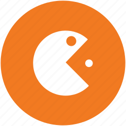 arcade, gaming, pacman character, pacman game, video game icon
