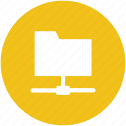 data sharing, folder sharing, network folder, network sharing, server sharing icon