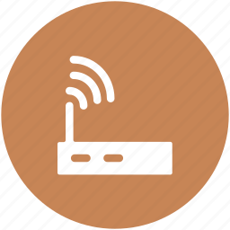 internet device, internet modem, router, wifi modem, wifi router, wireless modem icon