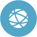 globe, internet grid, network connection, planet, social network icon