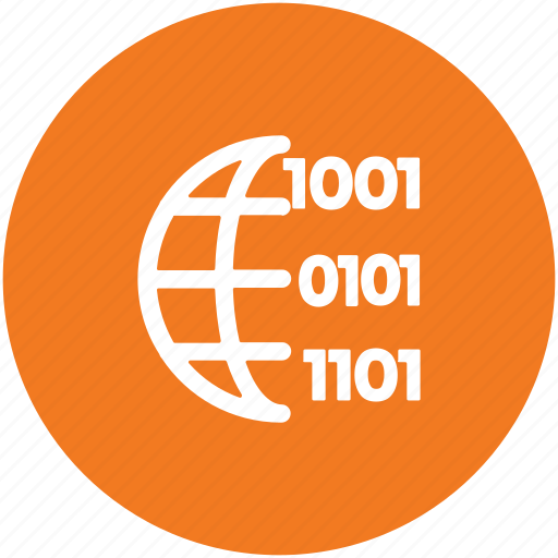 binary numbers, computer language, programming, programming language, web development icon