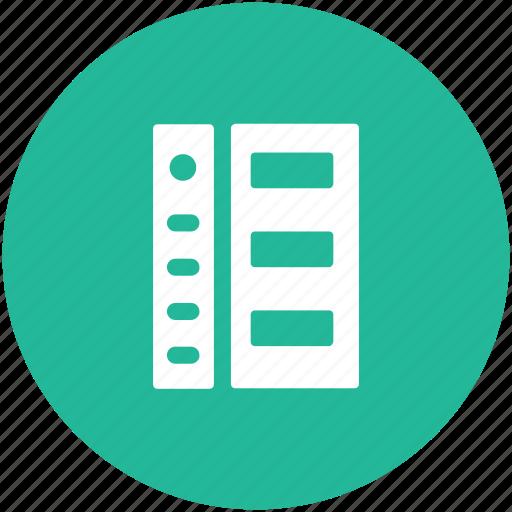 data storage, hosting server, network share, rack server, server icon