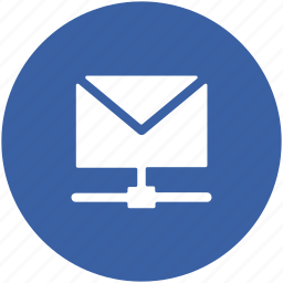 email, email folder, email sharing, network sharing, server mail icon