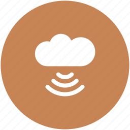 cloud computing, wifi cloud, wifi connection, wireless connectivity, wireless internet icon