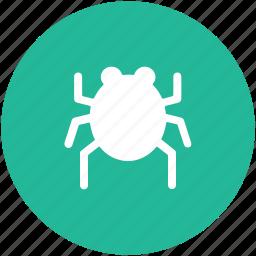 bug, computer bug, malware, virus, virus bug icon