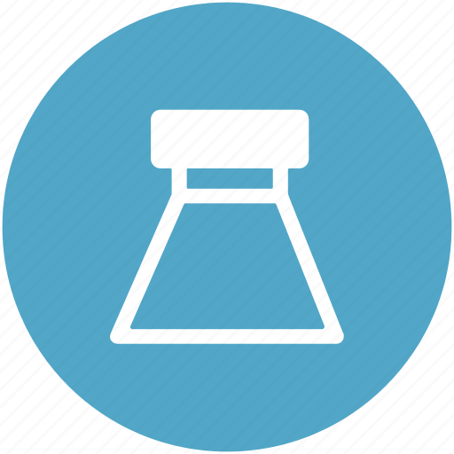 flask, lab accessories, lab experiment, lab flask, lab jar, volumetric flask icon