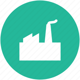 building, factory, industrial plant, industry, mill icon