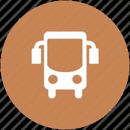 bus, journey, public bus, transport, transportation, travel icon