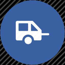 living truck, living van, transportship, van dwelling, vanity van icon