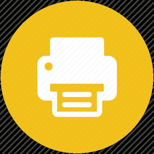 facsimile machine, fax, inkjet printer, printer, printing machine icon