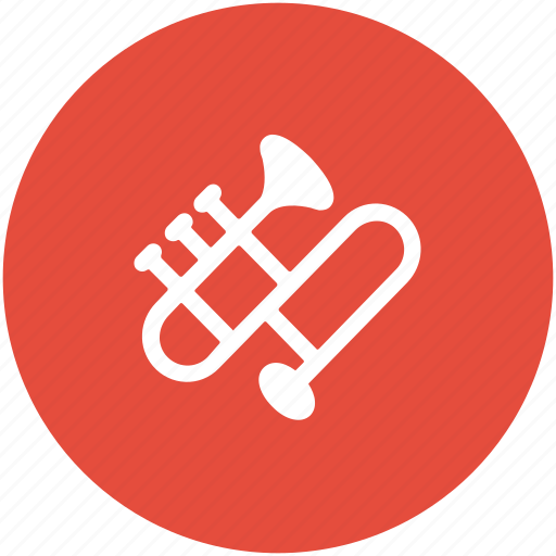 euphonium, french horn, horn, musical instrument, sax, trombone, trumpet, tuba icon