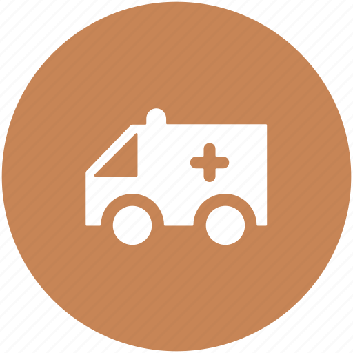 ambulance, ambulance service, medical emergency, medical transport, medical van, vehicle icon