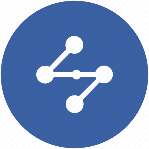 connection, network, share, share button, sharing, social media icon