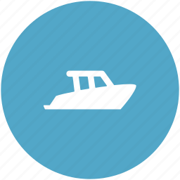 boat, luxury boat, ship, vessel, water transport icon