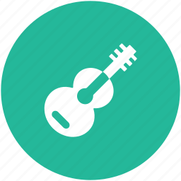 guitar, lute, melody, music, musical instrument icon