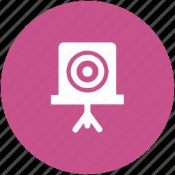 aim, bullseye, crosshair, dartboard, goal, shooting board, target icon