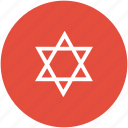hebrew, jewish sign, judaism, shield of david, star of david icon