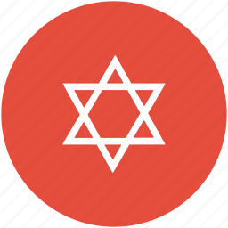 hebrew, jewish sign, judaism, shield of david, star of david icon